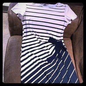 Navy and White lightweight dress
